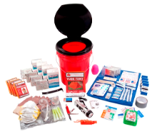 4 Person Guardian Deluxe Survival Kit  Bucket