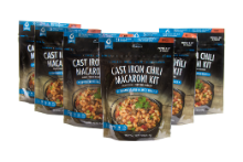 Bannock Cast Iron Chili Macaroni Kit - 6 Pack
