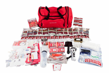 GUARDIAN - Deluxe Survival Kit w/ Long Term Food Storage