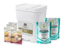 Legacy 158 Serving Freeze Dried Beef / Chicken and Entree Combo