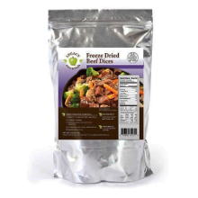 Freeze Dried Beef - Legacy Premium