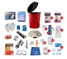 2 Person (72 Hour) Bucket Survival Kit