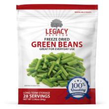 Legacy Freeze-Dried Green Beans