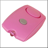 PERSONAL KEYCHAIN ALARM - PINK
