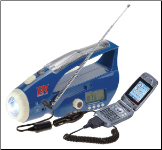 Solar Hand Crank Radio & Flashlight