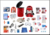 10 Person Guardian Deluxe Office or Home Survival Kit