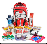 Trailblazer: 2 Person Kit with 96 Hr Food Storage
