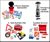 Guardian Preparedness PKG - 4 Person