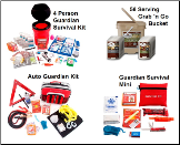Guardian Preparedness PKG - 4 Person w/Food Storage