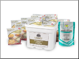 79 Serving Freeze Dried Chicken & Entree Combo