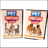 Pet Emergency First Aid DVD : Cats