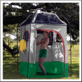 Deluxe Camper Shower / Shelter