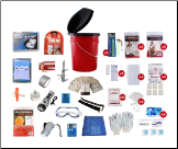 5 Person Guardian Deluxe Home or Office Survival Kit