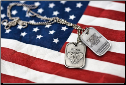 PSALM 91 Dog Tag Necklace